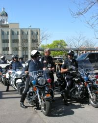 Police on Motorcycles