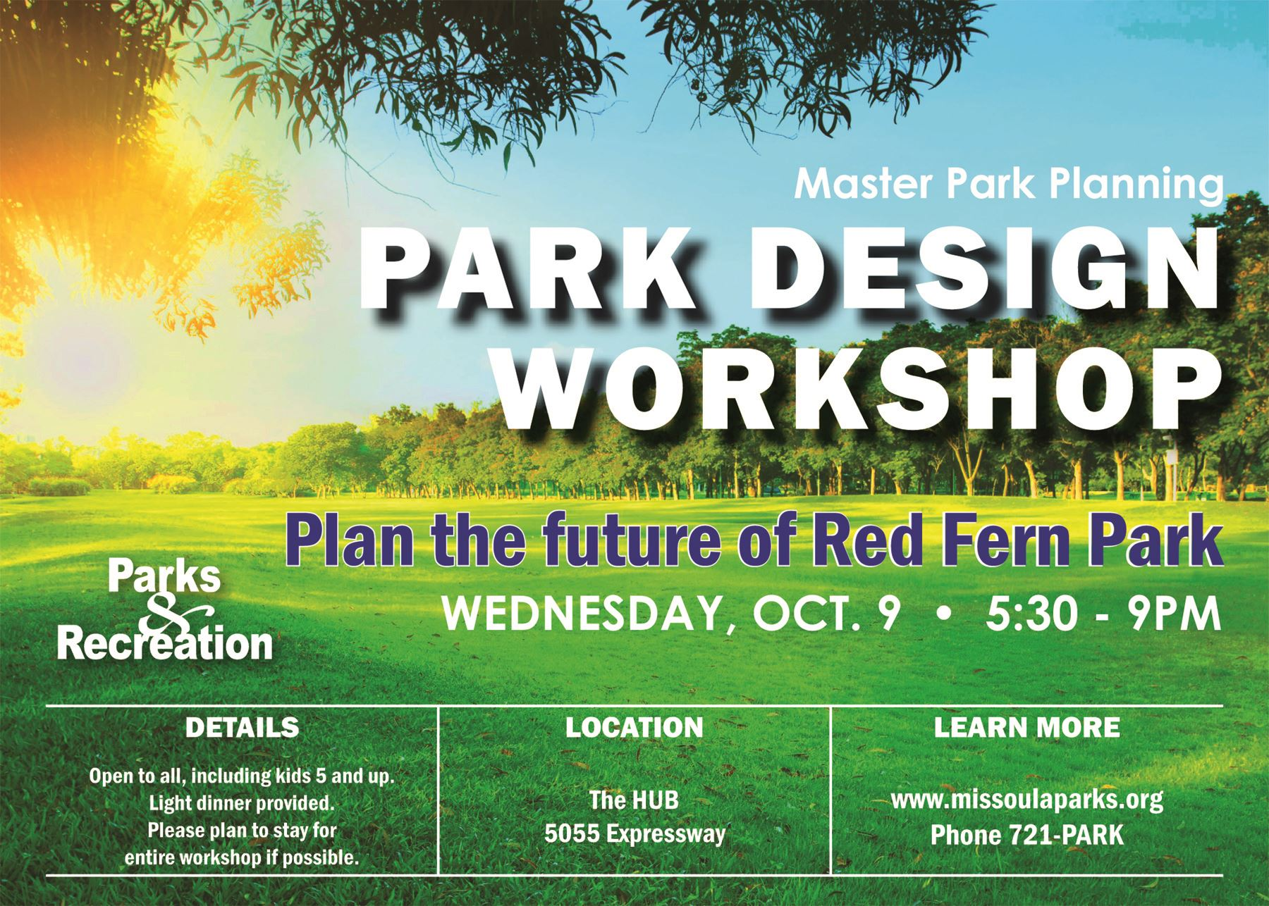 Red Fern design workshop invite jpg